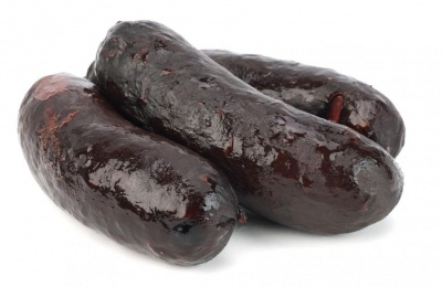Spanish Morcilla blood sausage