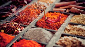 the spices paprika murcia